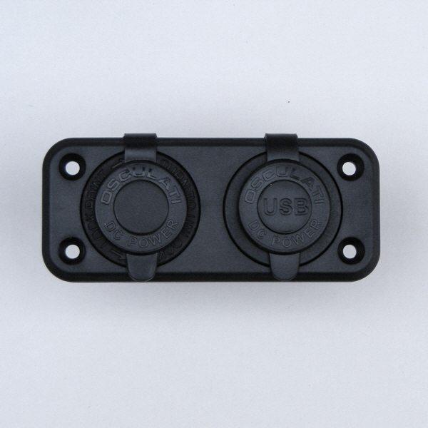 Toma del encendedor + USB doble